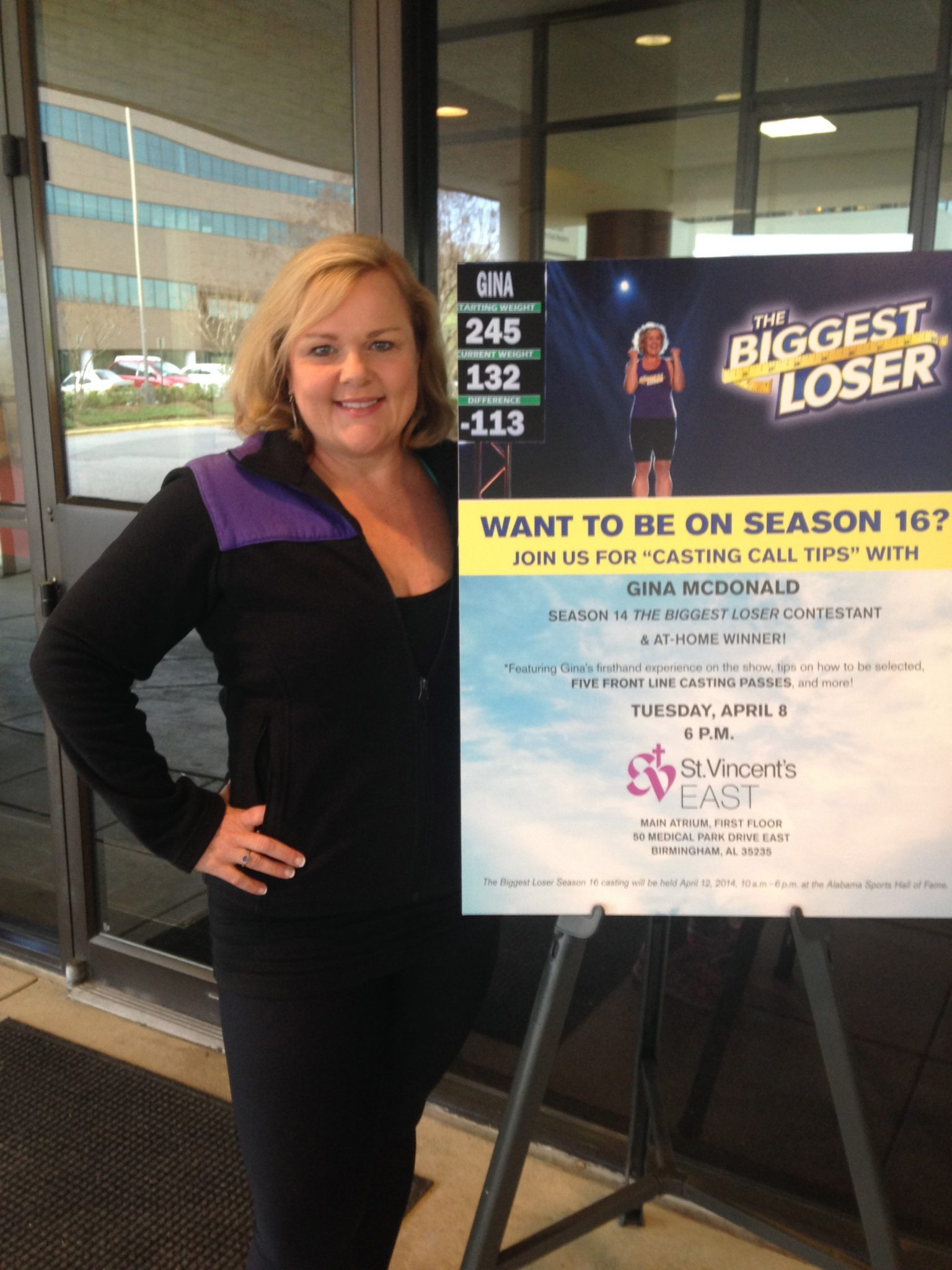 The Biggest Loser Interview with Gina McDonald - My Life ...