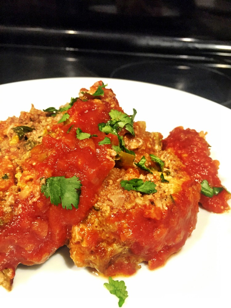 Paleo Mexican Meatloaf