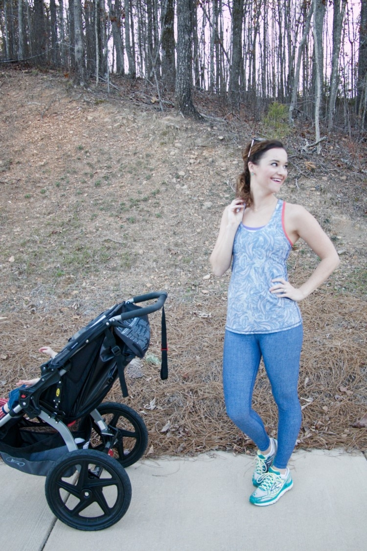 Wear it to Heart Athleisure Wear: Mom & Baby Workout Video + Benefits of Exercising with Baby from Heather Brown of MyLifeWellLoved.com