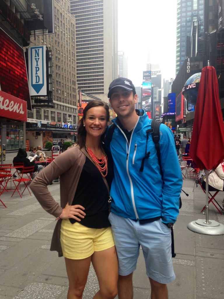 Eric and Heather NYC