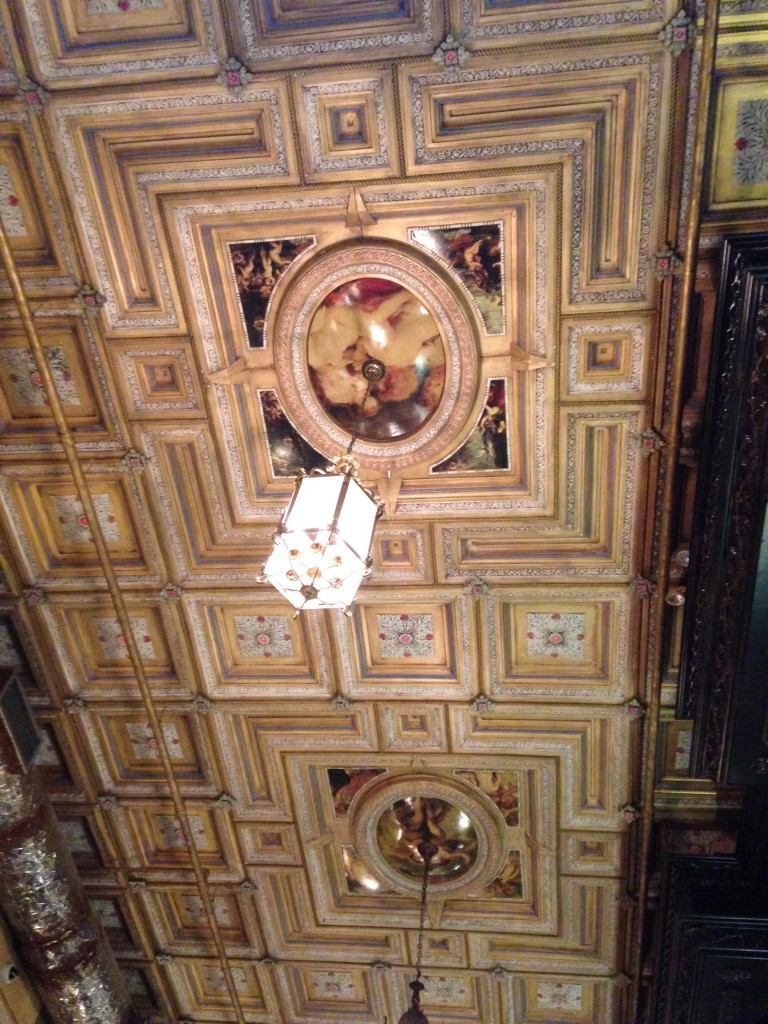 Beautiful Ceiling: Lillie's Victorian Bar