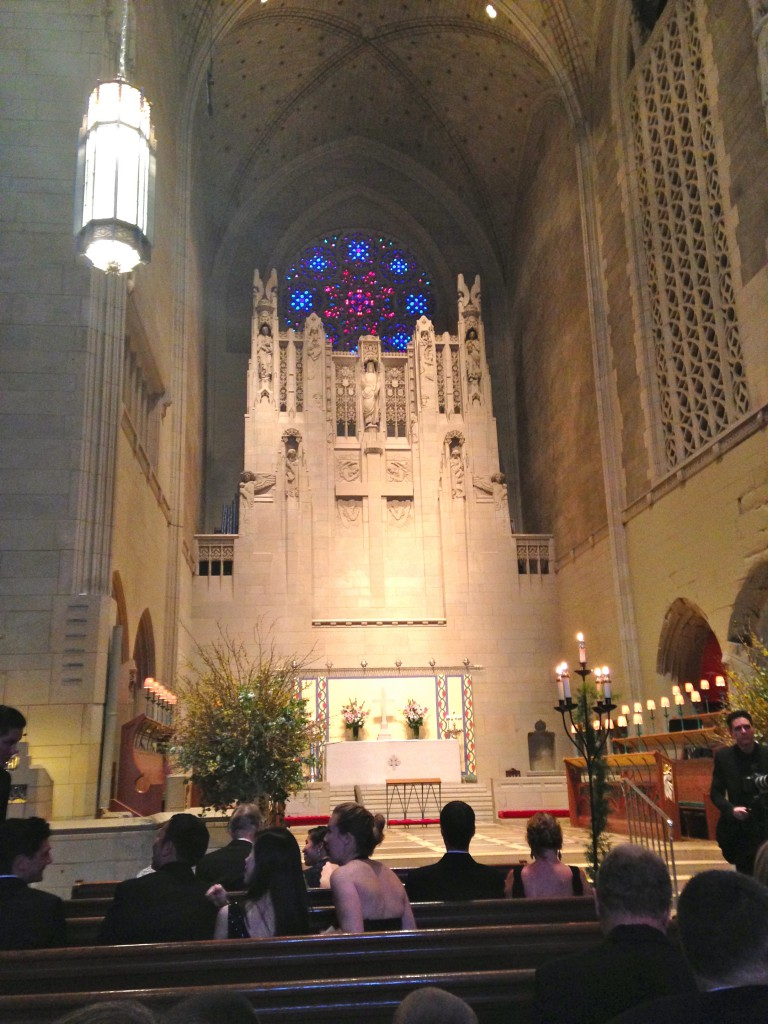 New York City's The Church of the Heavenly Rest