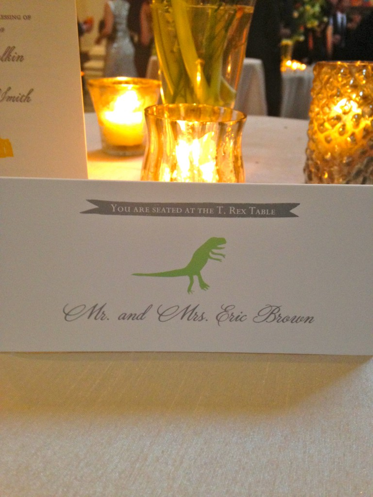 NYC Placecards
