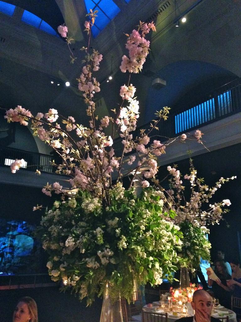 NYC Wedding Flower centerpiece