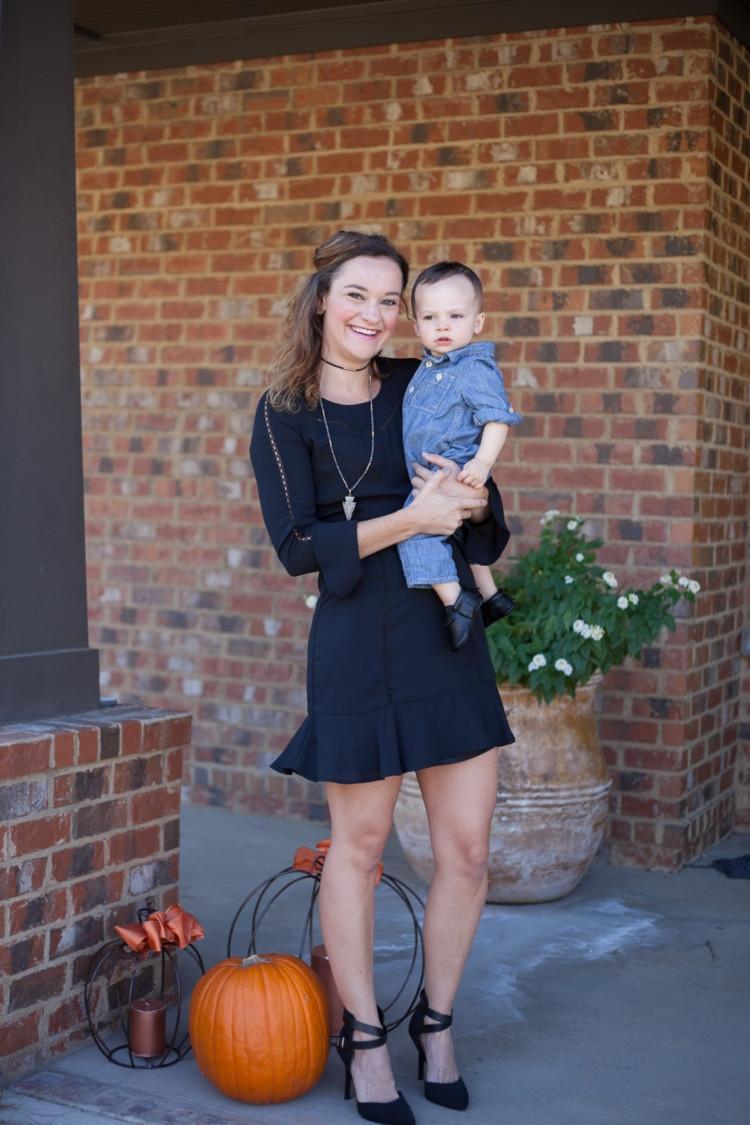 Boy Mom Style Winter Little Black Dress My Life Well Loved