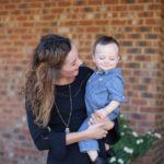 Boy Mom Style: Winter Little Black Dress