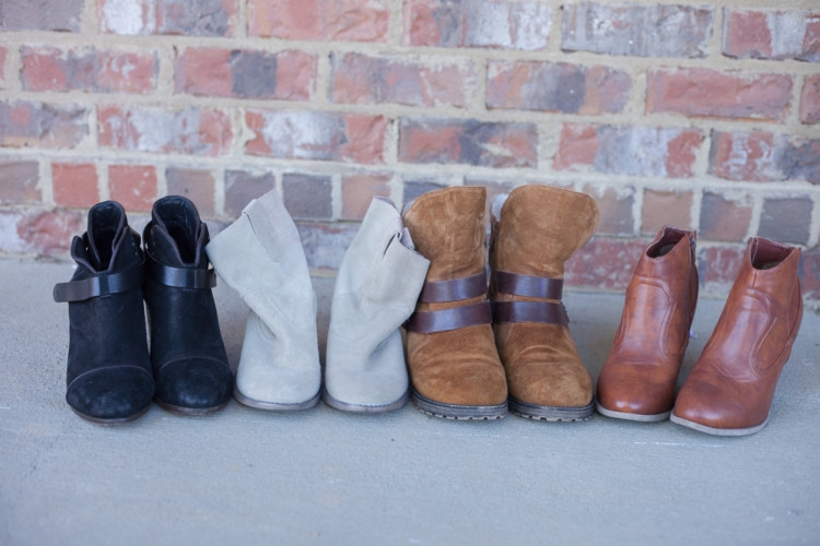 Sale Boots and Booties outfit ideas from Heather of MyLifeWellLoved.com
