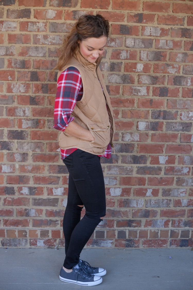 Mom and Baby Fall Style from Heather Brown of My Life Well Loved || Baby fall style || Mom fall style || Mom winter fashion