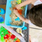 An Easy Toddler Sensory Activity with Every Day Items in your Home
