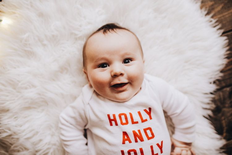 Sharing Finn's Fourth Baby Milestones by Month by Heather at MyLifeWellLoved.com // #fourmonthsold #babymilestones