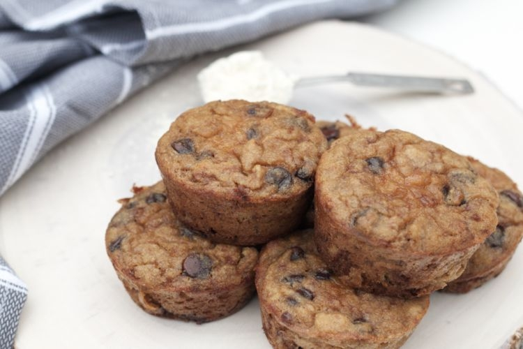 Paleo Chocolate Chip Muffins from Heather Brown of My Life Well Loved - Halloween Tricks and Treats: Paleo Chocolate Chip Muffins by Alabama foodie blogger My Life Well Loved