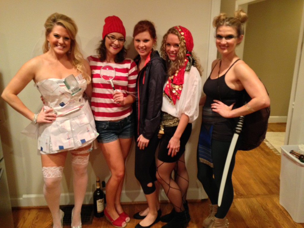 Halloween Costume Ideas - DIY Where's Wenda Costume by Alabama lifestyle blogger My Life Well Loved