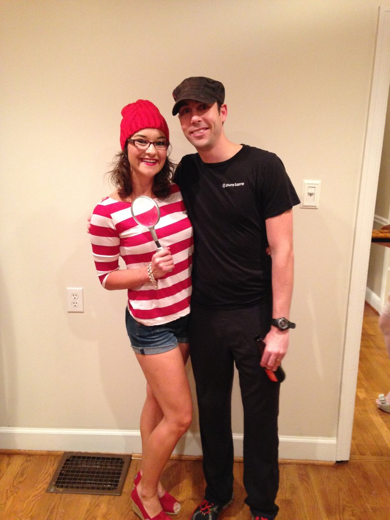 Where's Waldo & Pure Barre Instructor Costumes - DIY Where's Wenda Costume by Alabama lifestyle blogger My Life Well Loved