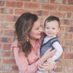 Boy Mom Style: Valentine's Day Mom & Baby Outfit