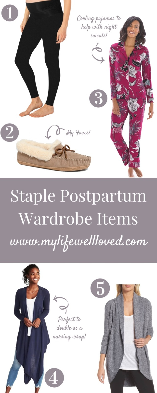 Postpartum outfit to wear home from hospital or after baby // #postpartum
