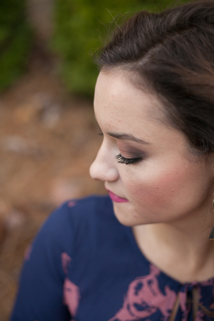 Hooded Eye Makeup Tutorial // Current Beauty Favorites from Heather of MyLifeWellLoved.com // Makeup Tips for hooded eyes