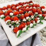 Appetizers: Easy And Quick Caprese Salad Skewers Recipe