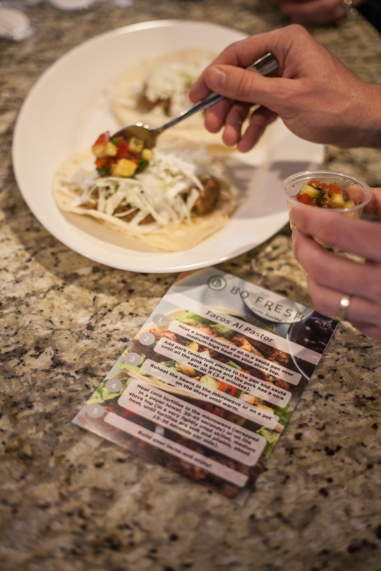 Meal Planning: 80Fresh Paleo Meals from Heather of MyLifeWellLoved.com // 80Fresh Meal Review