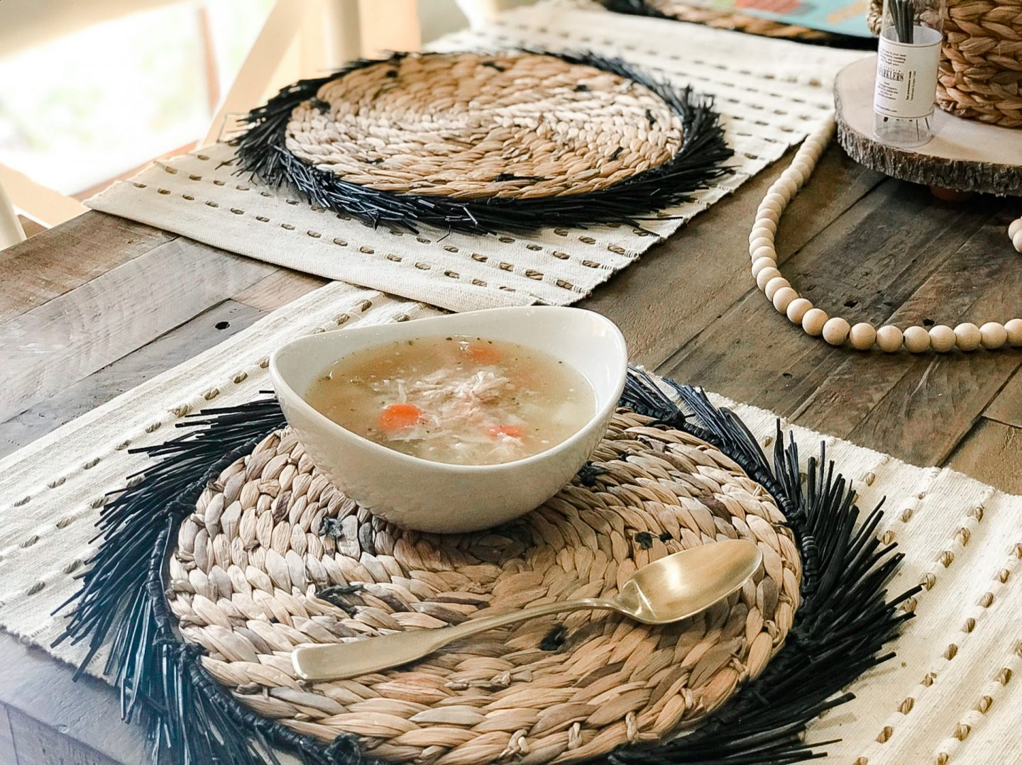 Comforting Paleo Chicken Soup by Alabama Food + Healthy Lifestyle blogger, Heather Brown // My Life Well Loved