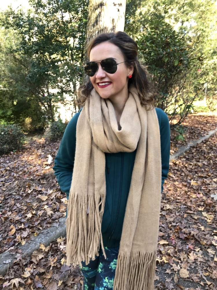 Free People Scarf | Best Christmas Gift Ideas featured by top Birmingham lifestyle blog My Life Well Loved