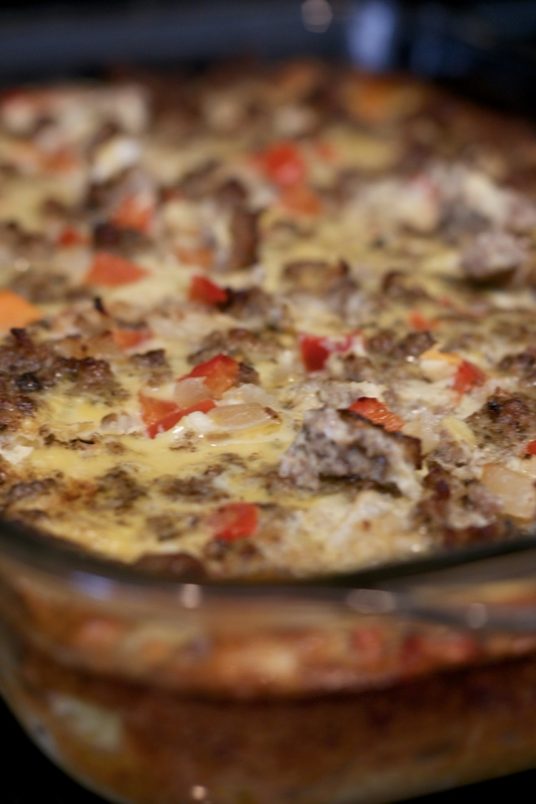 Easy WHole30 meals: Whole30 Breakfast Casserole Recipe from Alabama blogger, Heather of MyLifeWellLoved.com // whole 30 sweet potato casserole, pin this for later. makes a great grab and go breakfast all week long! Paleo approved too! - Easy Whole30 Meals: Yummy Whole30 Breakfast Casserole by popular Alabama fitness blogger My Life Well Loved