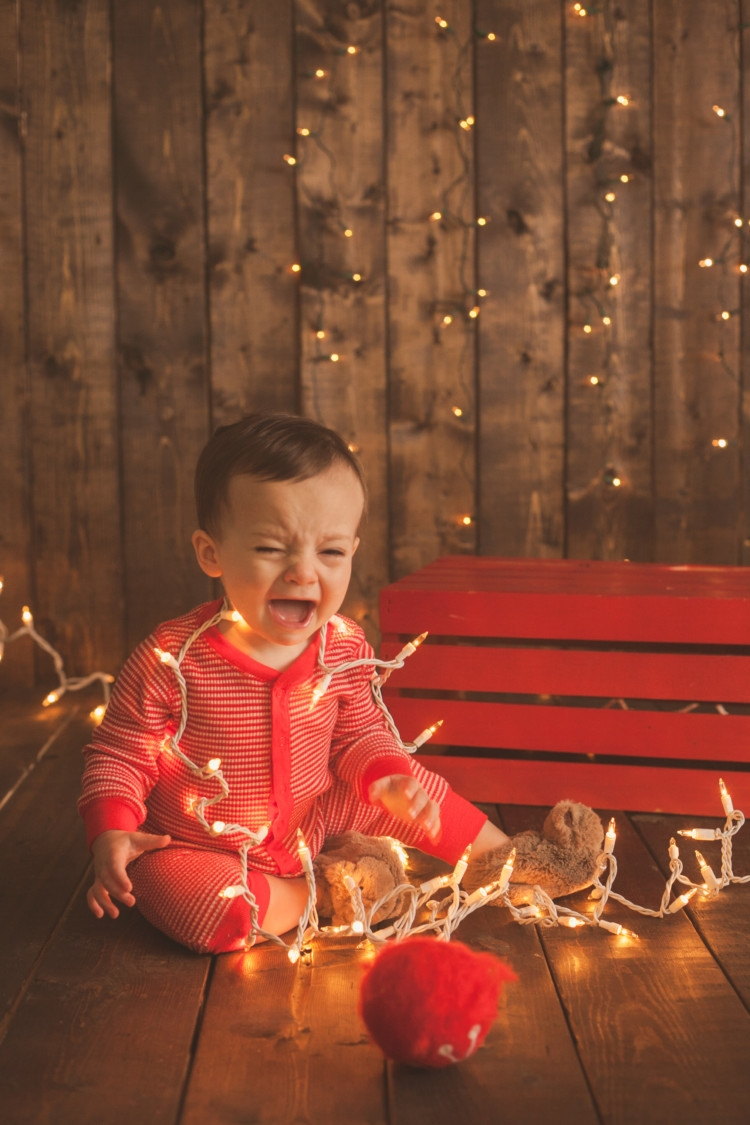 Memories to make for your baby's first Christmas    Pictures to take with your baby at Christmas from Heather Brown of My Life Well Loved    Photos to take of your toddler at Christmas - 10 Baby Christmas Pictures to Take featured by popular Birmingham lifestyle blog, My Life Well Loved