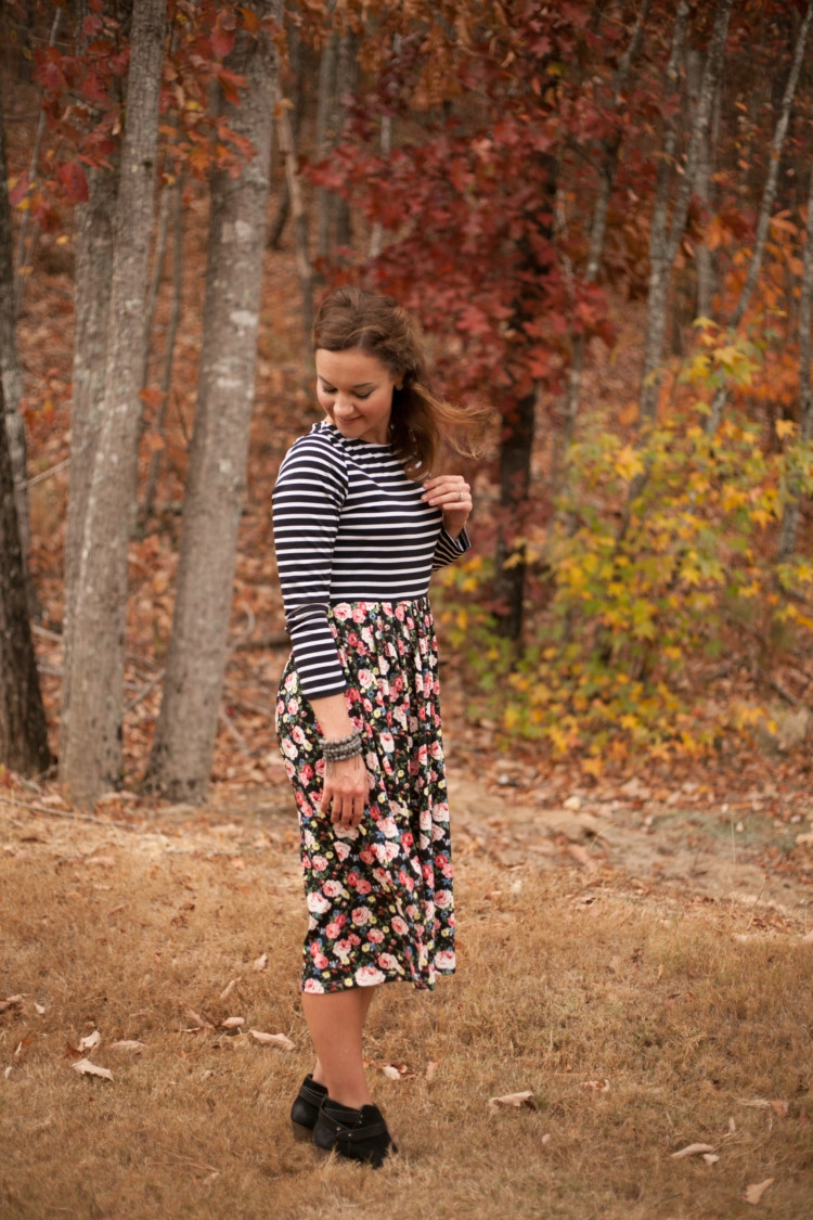 Pattern Mixing & Tips to Invest in Your Marriage with Heather of MyLifeWellLoved.com Littles Style Boy and Mom fashion ideas. Spring Fashion