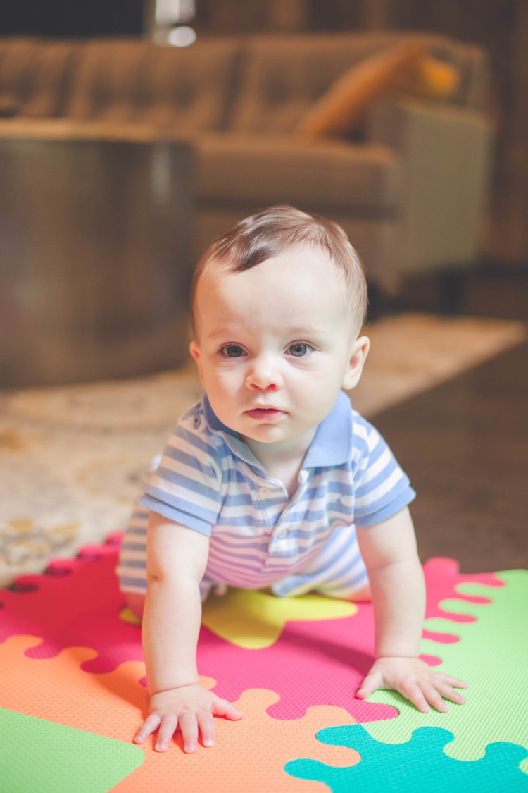 My Life Well Loved: Leyton 9 Months Old