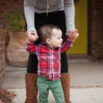 Boy Mom Style: Boots & Leggings