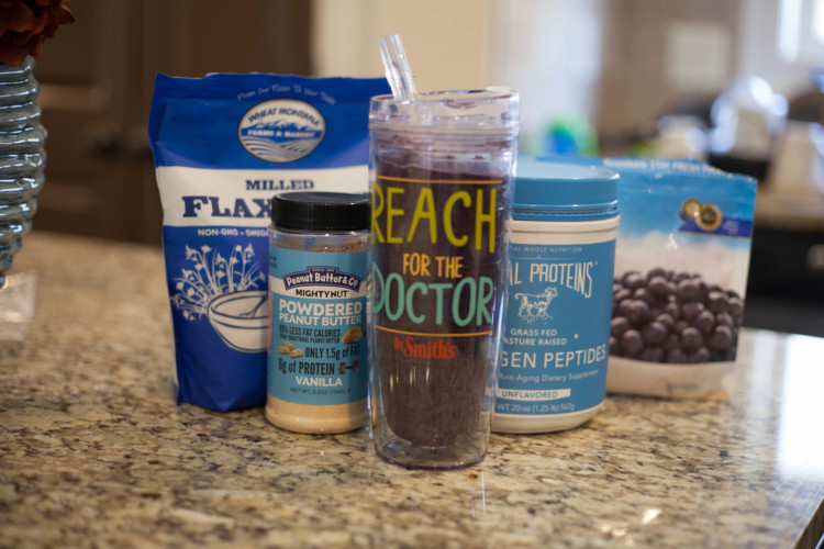 My Life Well Loved: Blueberry Peanut Butter Smoothie