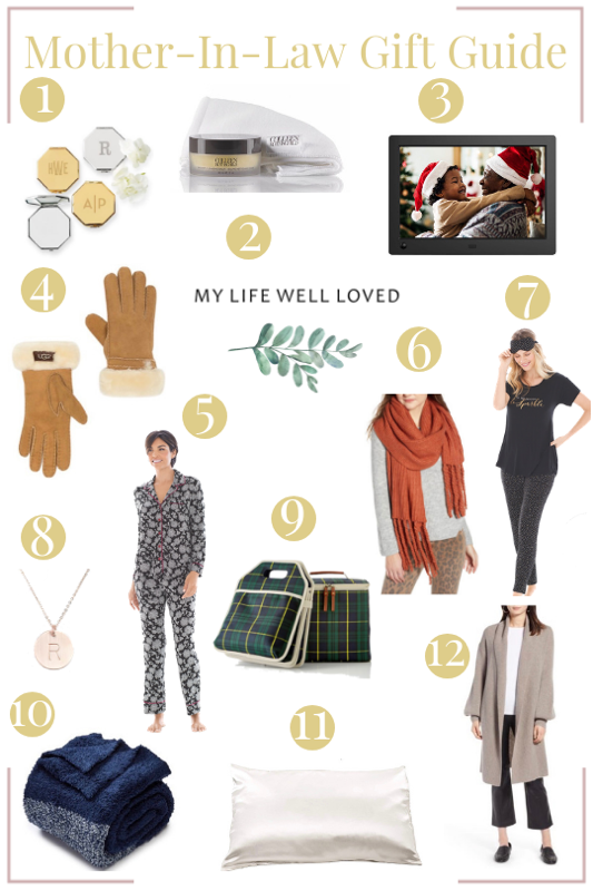 The best christmas gifts for mother in law by top Birmingham lifestyle blog My Life Well Loved // #giftguide #motherinlaw #MILgifts #christmas
