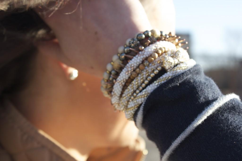 Stacks on Stacks of Bracelets