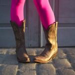 Fit Chic: Hot Pink & Cowboy Boots (A Fashion Post)
