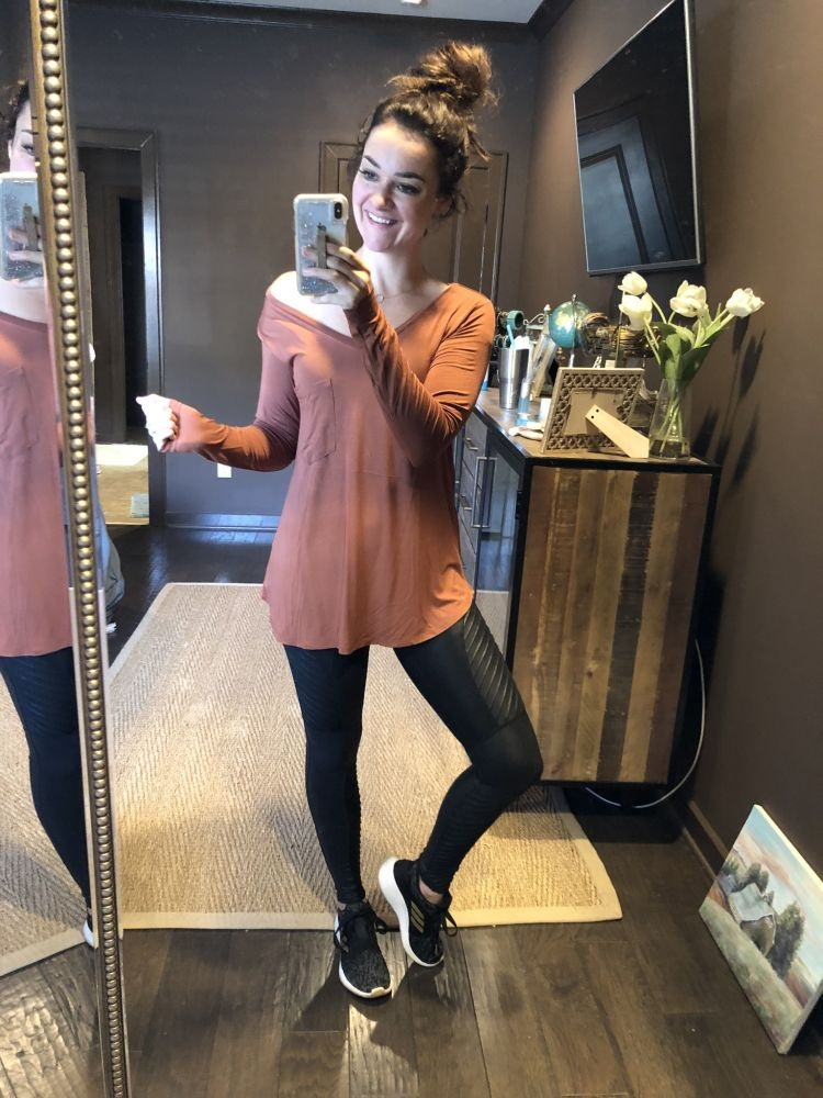 20 ways to wear leggings this fall by Life + Style blogger, Heather Brown // My Life Well Loved