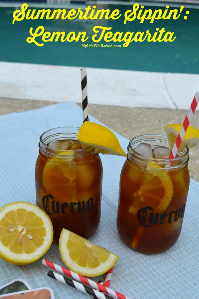 Summery Sips: Iced Teagarita