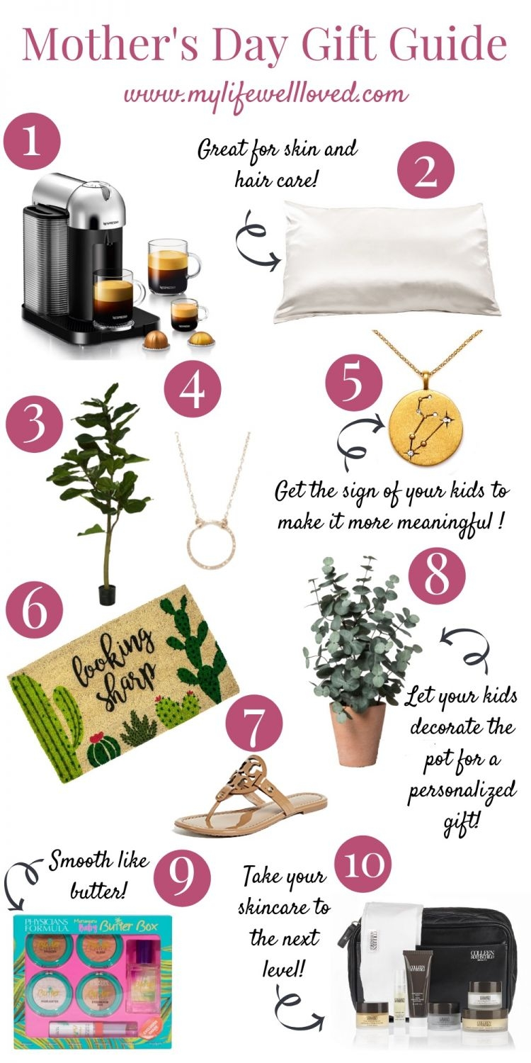 Unique Mother's Day Gifts Guide from alabama blogger Heather Brown of MyLifeWellLoved.com