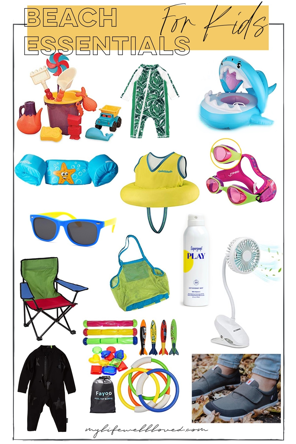 Beach Essentials by Alabama Family + Lifestyle blogger, Heather Brown // My Life Well Loved