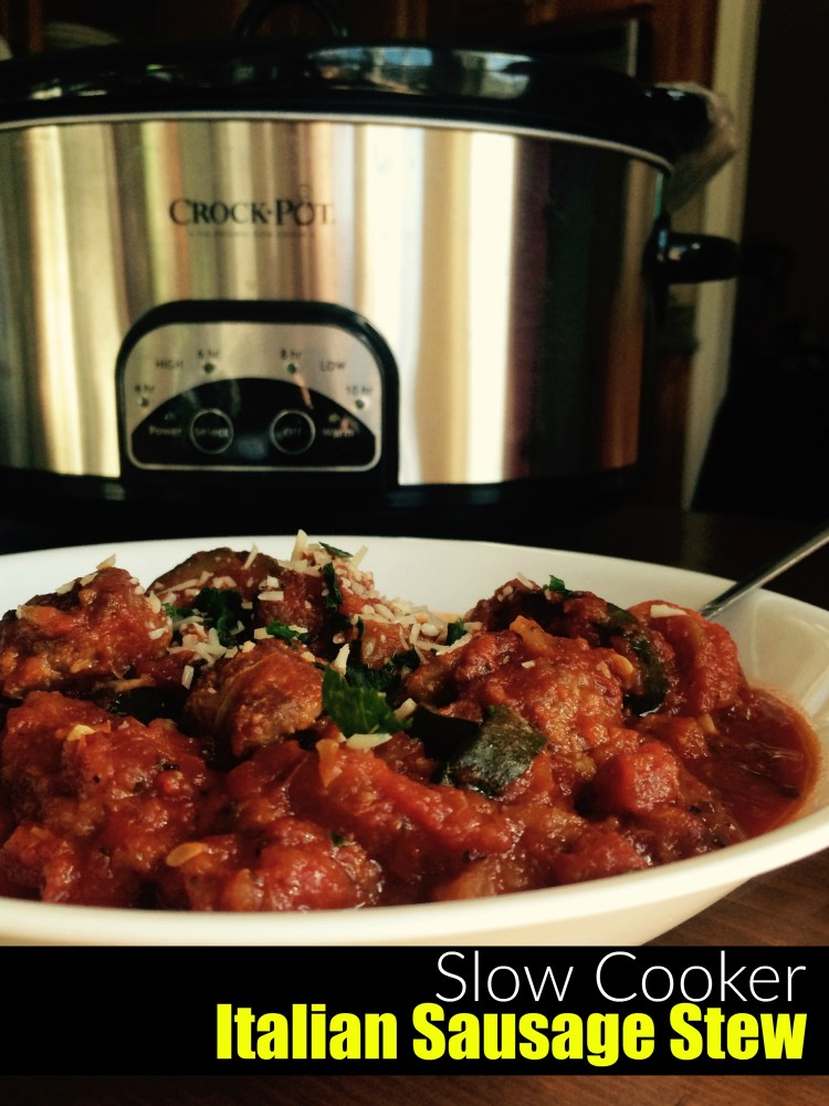 Clean Eating and All Natural Italian Sausage Stew