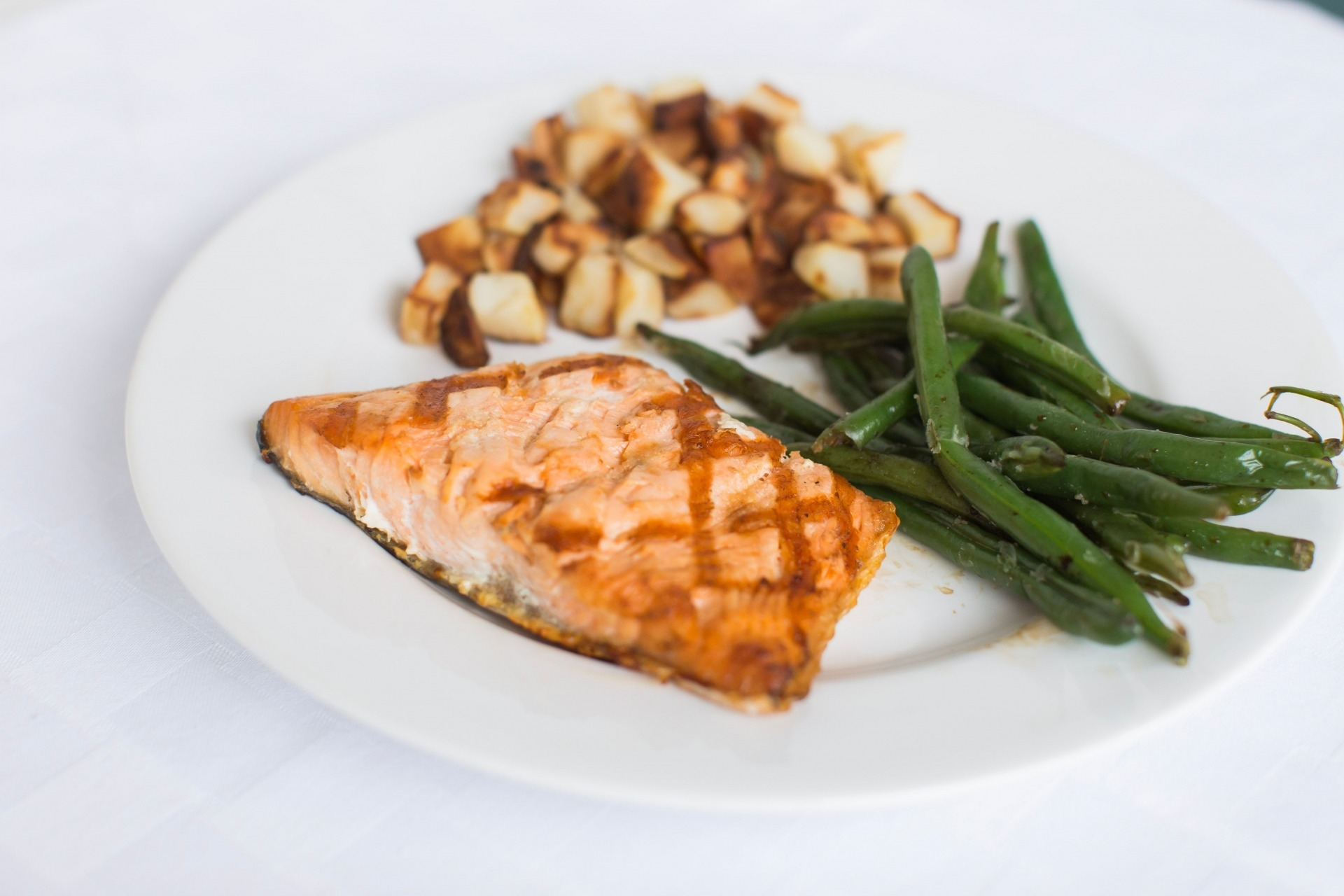 Simple Baked Salmon Recipe featured by top AL life, style and fitness blogger, Heather of My Life Well Loved