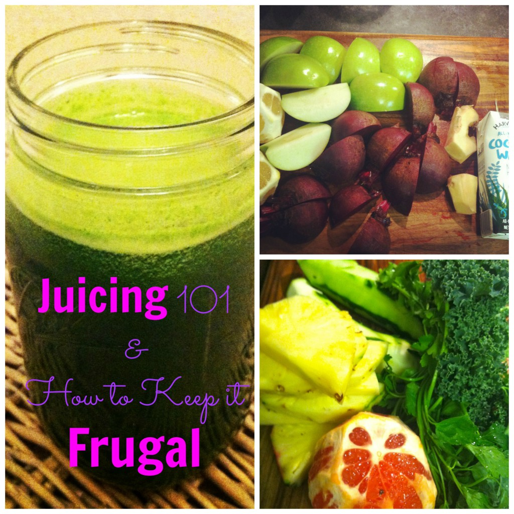Frugal Tips for Juicing