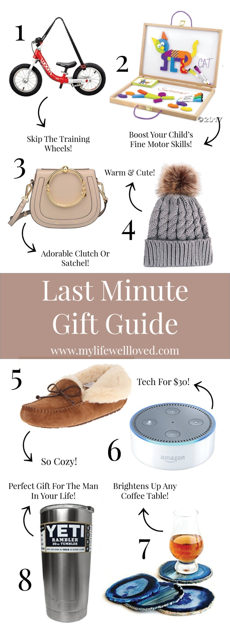 Last Minute Gift Guide // Christmas Gift Ideas for everyone on your list // Christmas Eve Service Outfit Idea // Cute Winter Church Ideas