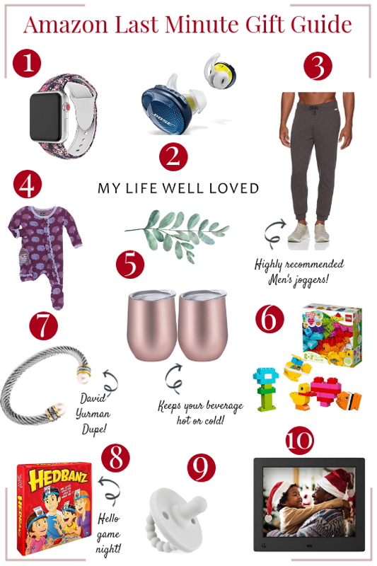Last Minute Gift Ideas on Amazon - My Life Well Loved