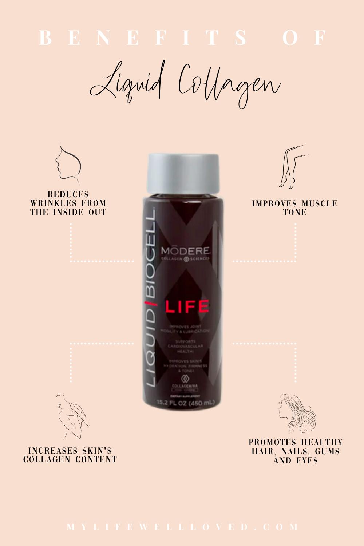 Collagen Supplements: 5 Liquid Collagen Benefits Vs Powdered Collagen by Alabama Health + Wellness blogger, Heather Brown // My Life Well Loved