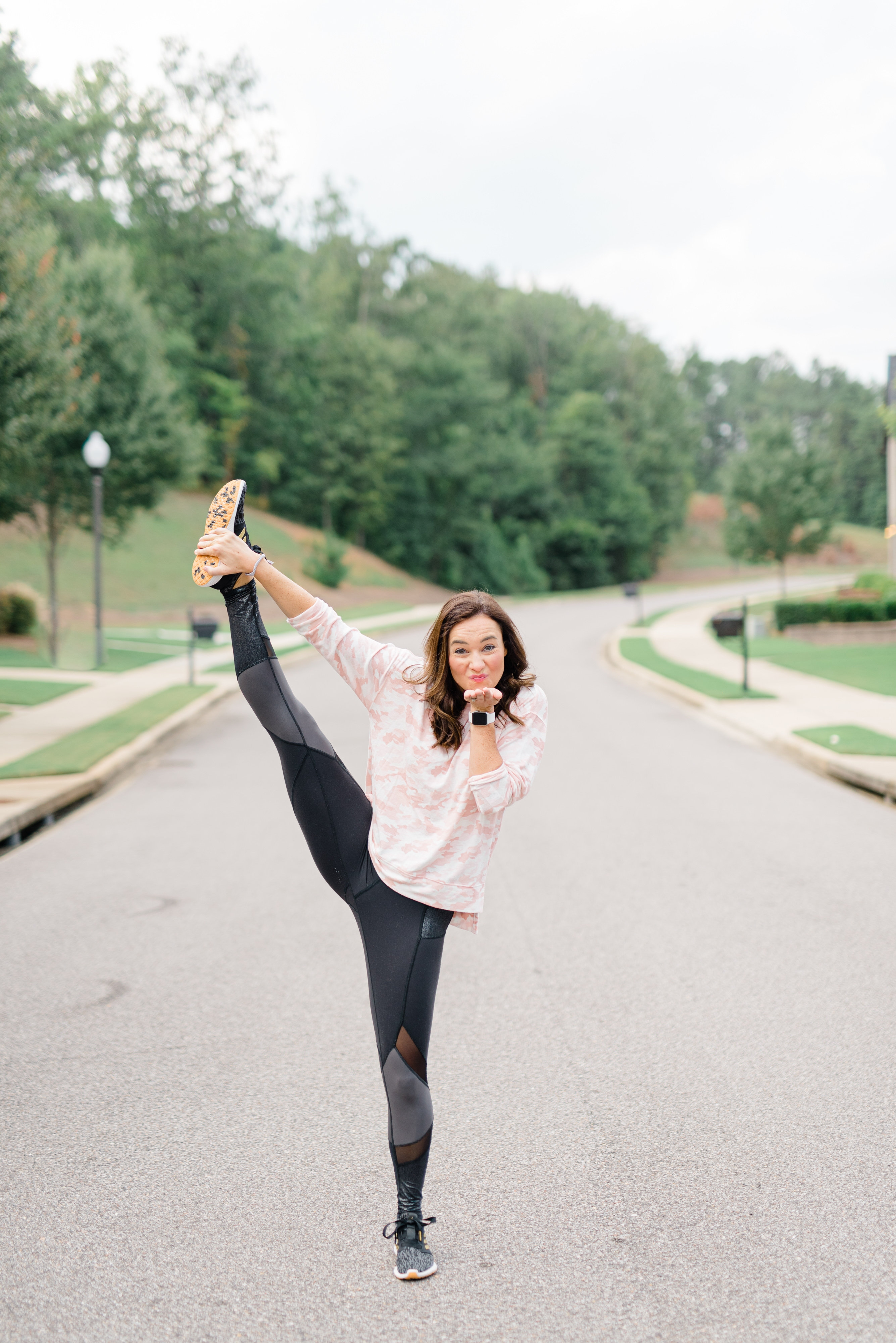 Holiday Honey Hustle Week 2 Holiday Workout by Life + Style blogger, Heather Brown // My Life Well Loved