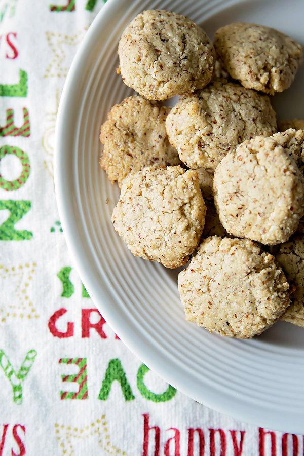 Healthy Hazelnut Cookies
