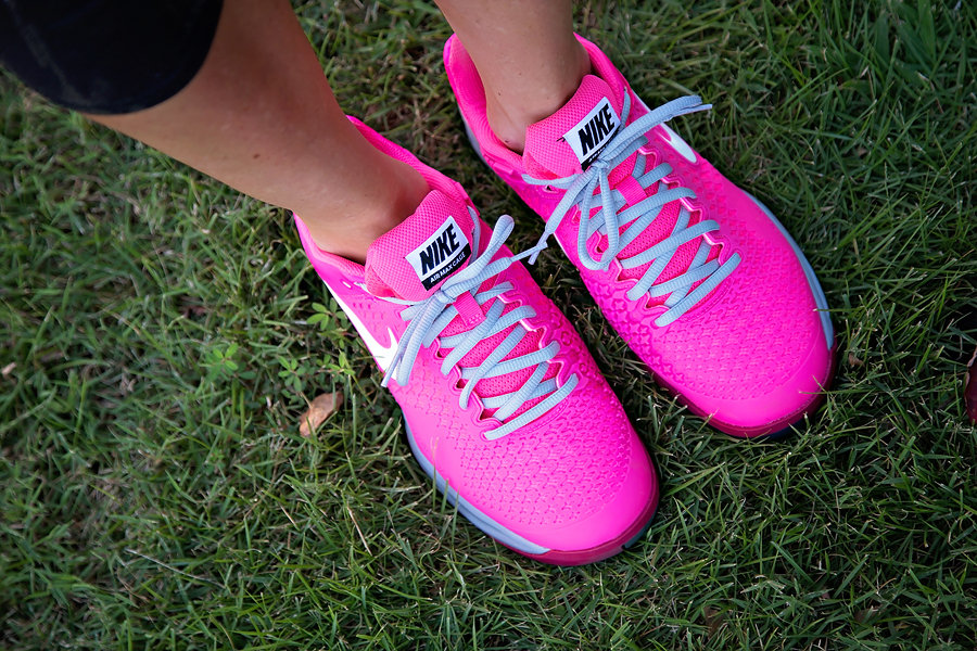 Hot Pink Nikes | My Life Well Loved