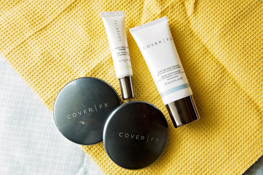 COVERFX Makeup-Winter makeup routine