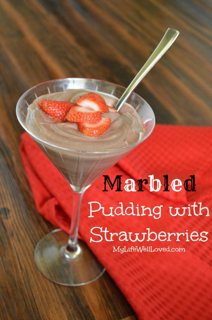 Pudding and Strawberries Recipe