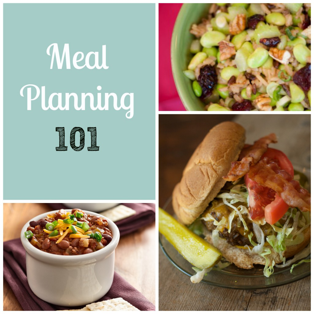 Meal Planning 101 from My Life Well Loved