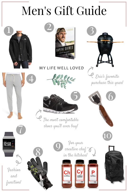 50+ Holiday Gift Ideas for Him by Life and Style Blogger Heather at Mylifewellloved.com // #giftguide #holiday #christmas #mensgifts
